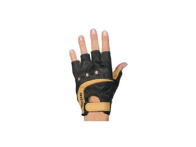 Moto rukavice RICHA DRIVE černo/hnědé