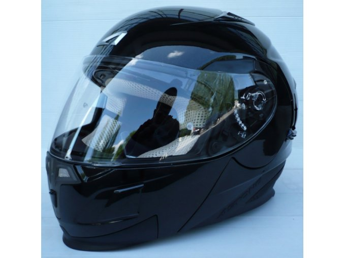 Moto přilba ASTONE RT1000 černá lesklá
