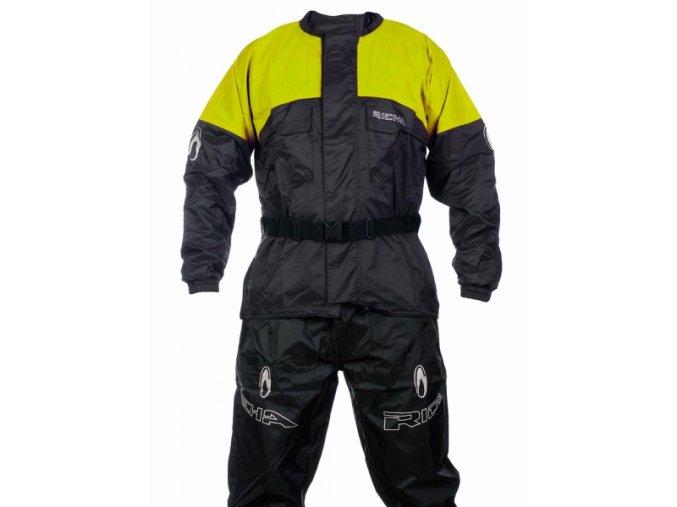 Moto pláštěnka bunda RICHA RAINWARRIOR žlutá fluo