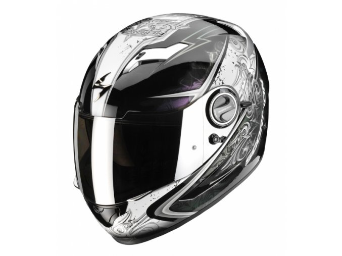 Moto přilba SCORPION EXO-500 AIR RUN černá chameleon