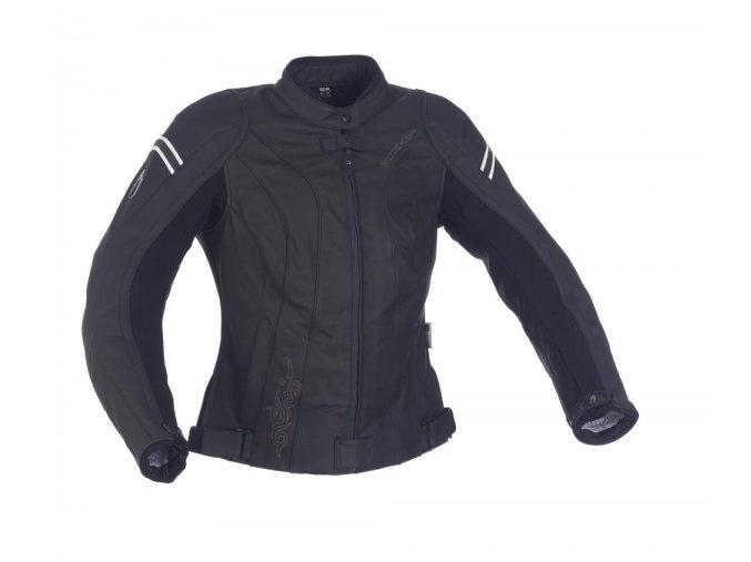 Dámská moto bunda Richa AIMEE černá, kožená