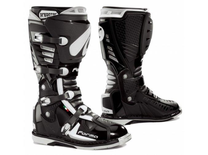 Moto boty FORMA PREDATOR černé