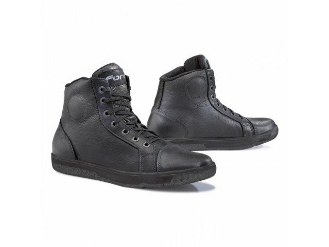 Moto boty FORMA SLAM DRY WP černé
