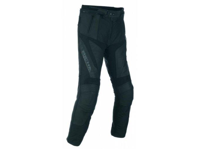 Moto kalhoty RICHA BALLISTIC kožené černé