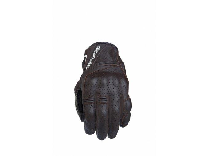Moto rukavice FIVE SPORT CITY hnědé