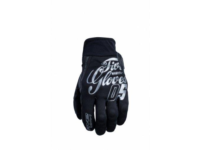 Moto rukavice FIVE SLIDE hiro chrome