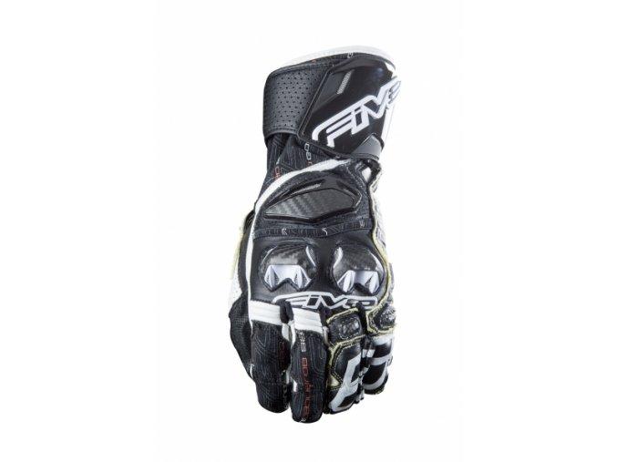 Moto rukavice FIVE RFX RACE černo/bílé
