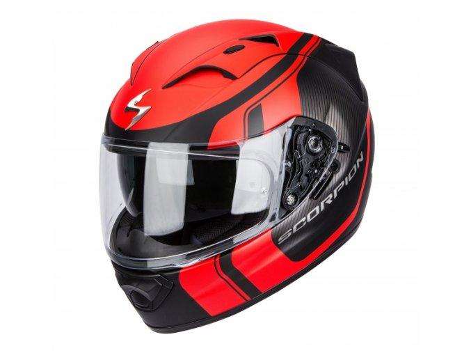 Moto přilba SCORPION EXO-1200 AIR STREAM TOUR černo/červená matná