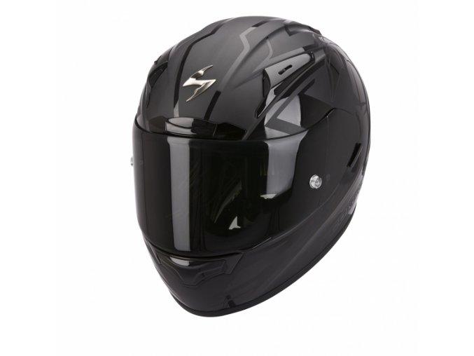 Moto přilba SCORPION EXO-2000 EVO AIR TRACK černo/černá matná