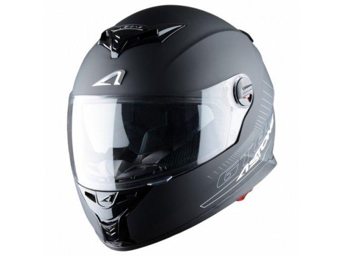Moto přilba ASTONE GT800 černá matná
