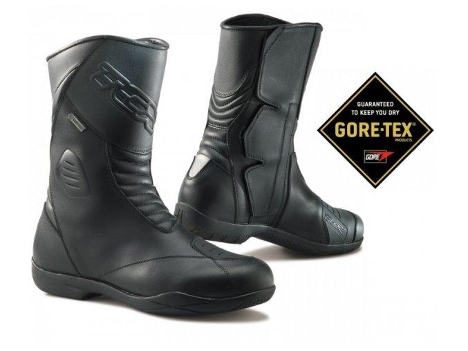 Moto boty TCX X-FIVE EVO Gore-Tex černé