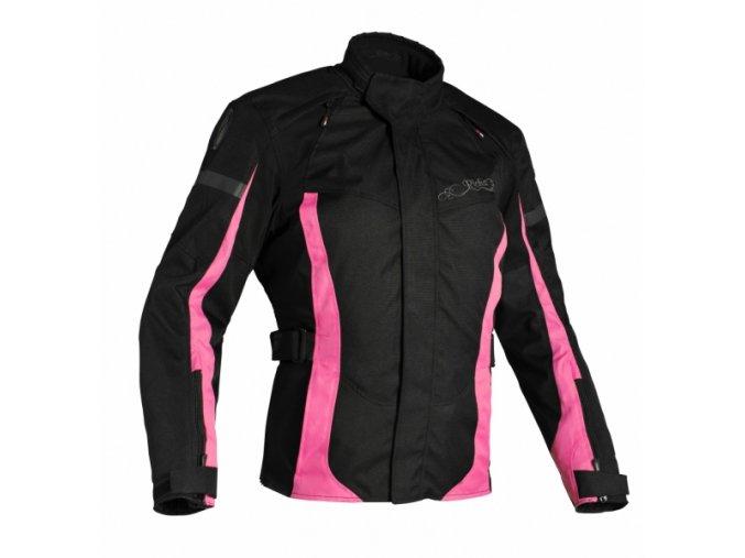 Dámská moto bunda RICHA BIARRITZ růžová