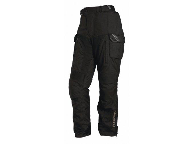 Moto kalhoty RICHA TOUAREG černé
