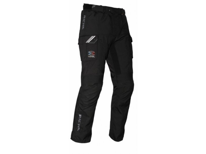 Moto kalhoty RICHA CUMULUS C-CHANGE černé
