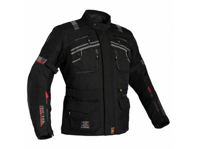 Moto bunda RICHA CUMULUS C-CHANGE černá