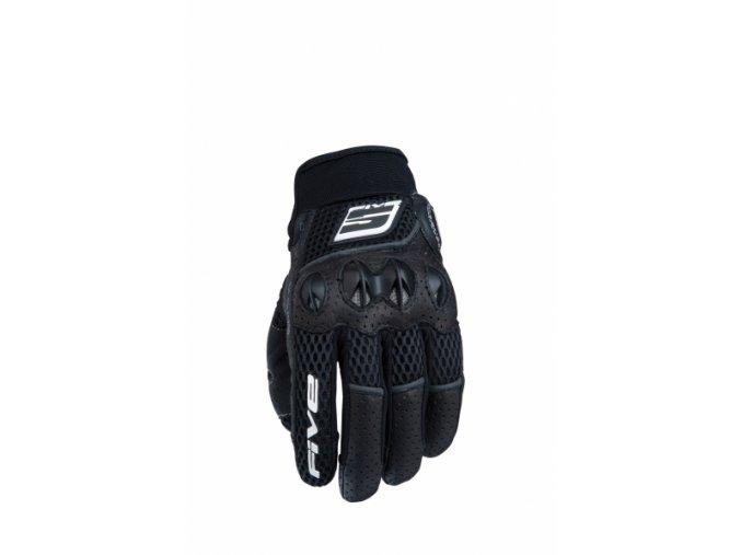 Moto rukavice FIVE STUNT EVO AIRFLOW černé