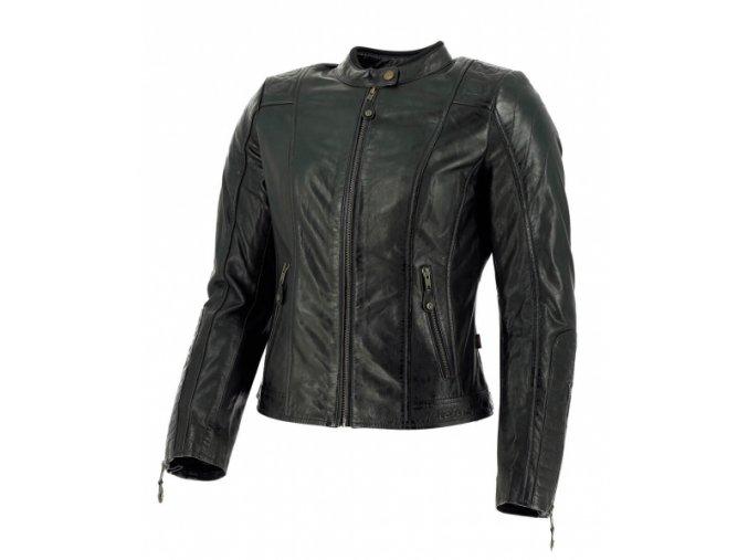 Dámská moto bunda RICHA LOUSANNE černá kožená