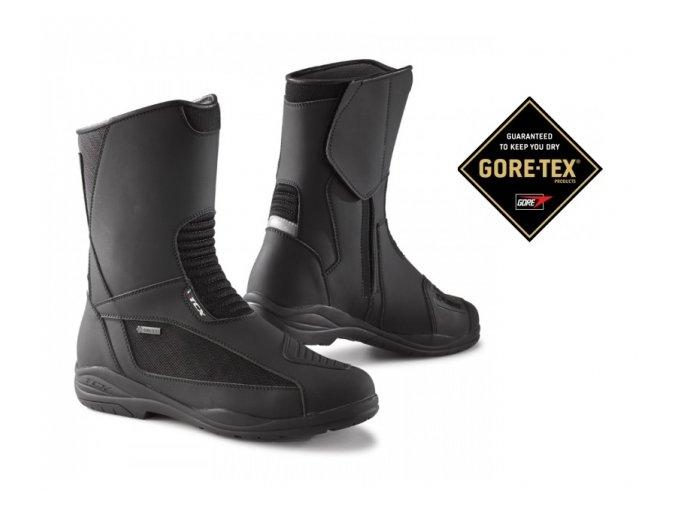 Moto boty TCX EXPLORER EVO GORE-TEX 7123G černé