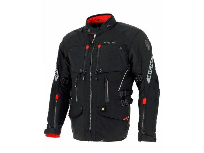 Moto bunda RICHA NAVARA černá