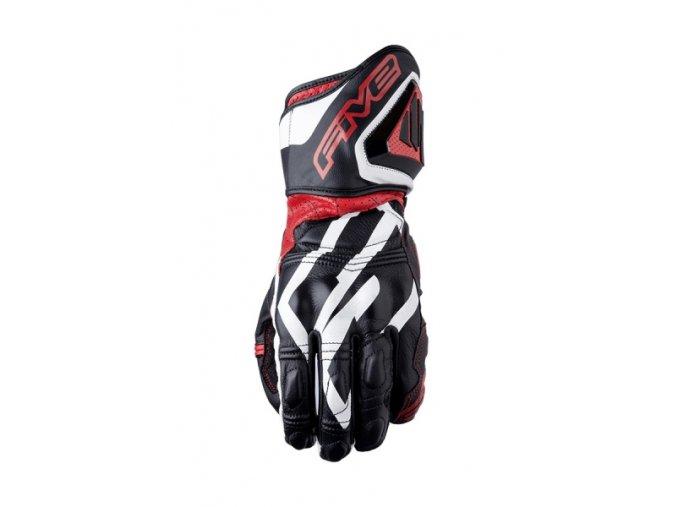 Moto rukavice FIVE RFX3 REPLICA černo/červené