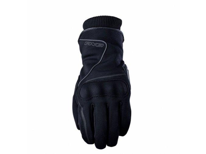 Moto rukavice FIVE STOCKHOLM WP černé