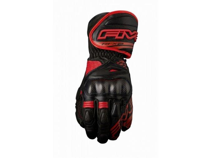 Moto rukavice FIVE RFX2 černo/červené