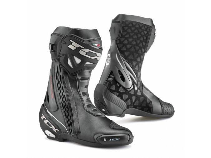 Moto boty TCX RT-RACE WP černé