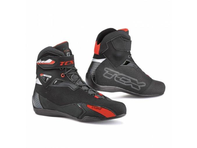 Moto boty TCX RUSH černé