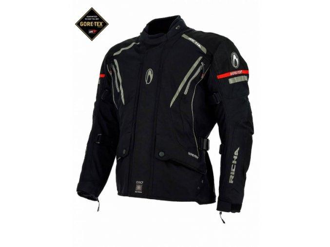 Moto bunda RICHA CYCLONE GORE-TEX černá