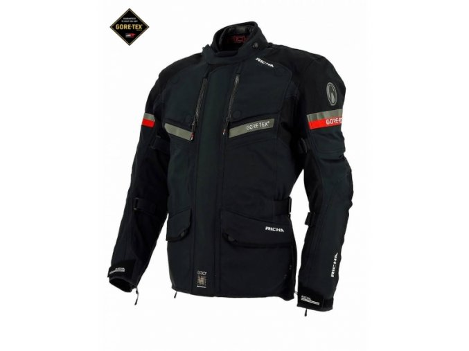 Moto bunda RICHA ATLANTIC GORE-TEX černá