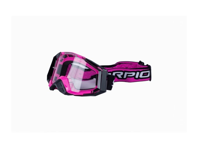 Brýle SCORPION E18 růžové UNI