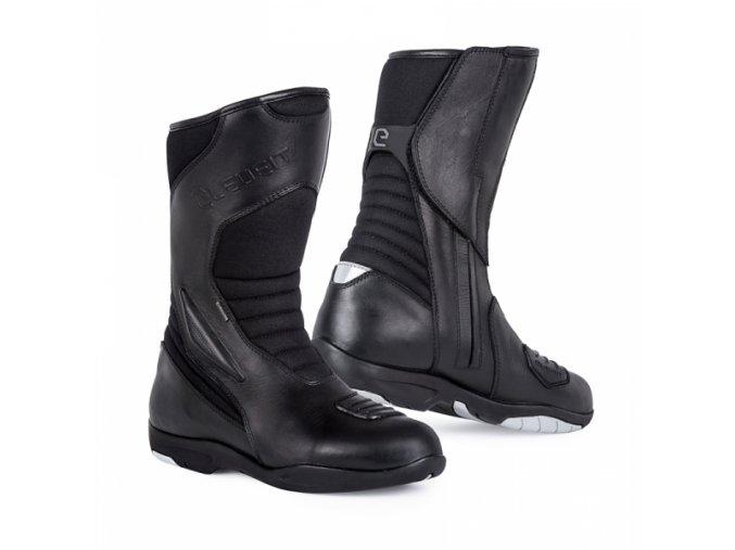 Moto boty ELEVEIT T ROAD WP černé
