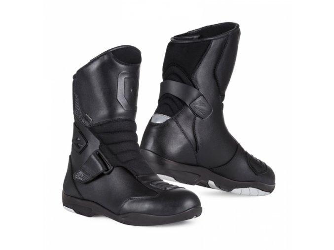 Moto boty ELEVEIT T OX WP černé