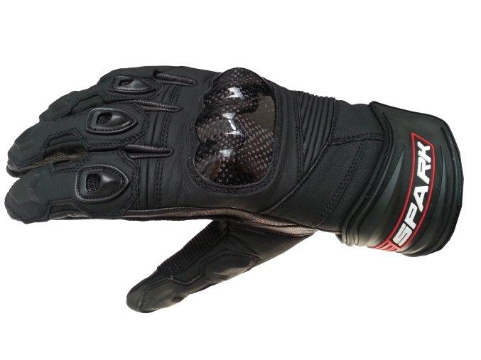 Kožené moto rukavice Spark Short