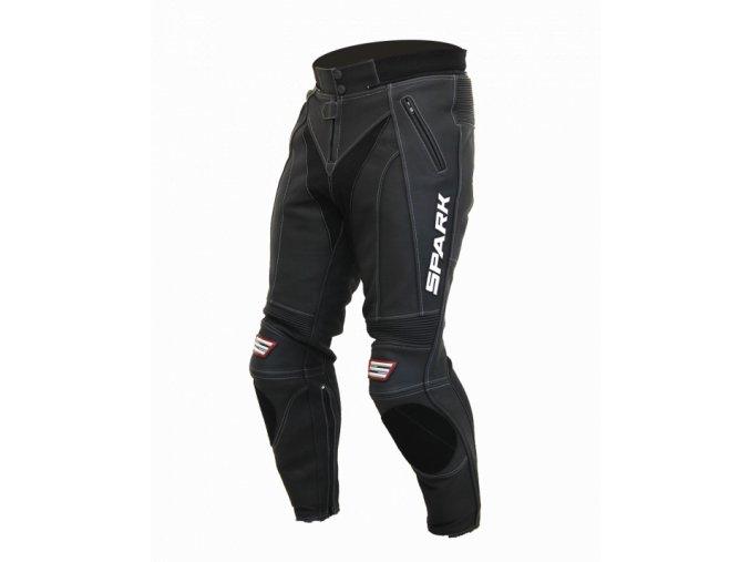 Pánské kožené moto kalhoty Spark ProComp, černé