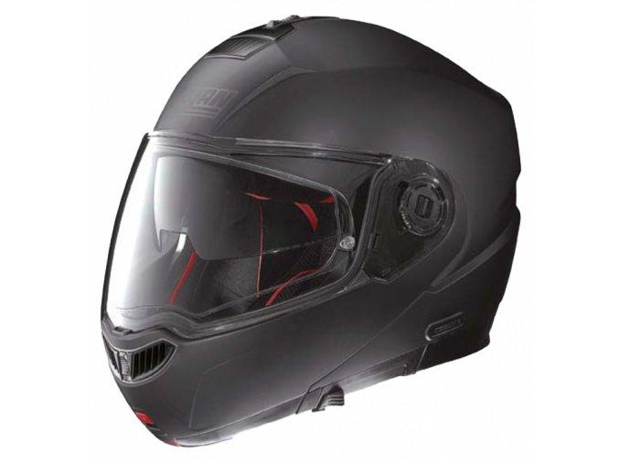 Moto helma Nolan N104 Absolute Classic N-Com Flat Black 10