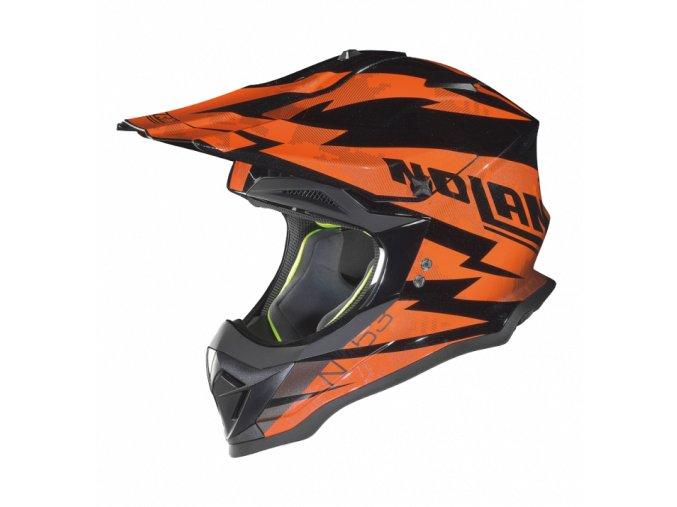 Moto helma Nolan N53 Comp Metal Black 6 - XL