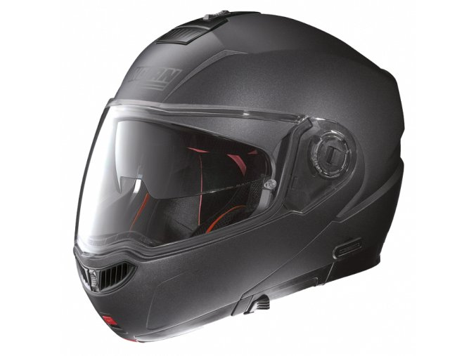 Moto helma Nolan N104 Absolute Special N-Com Black Graphite 9