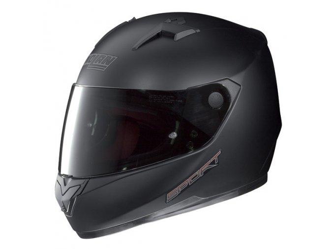 Moto helma Nolan N64 Sport Flat Black 13 - S