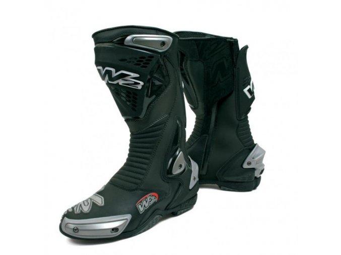 Pánské moto boty W2 Misano Black