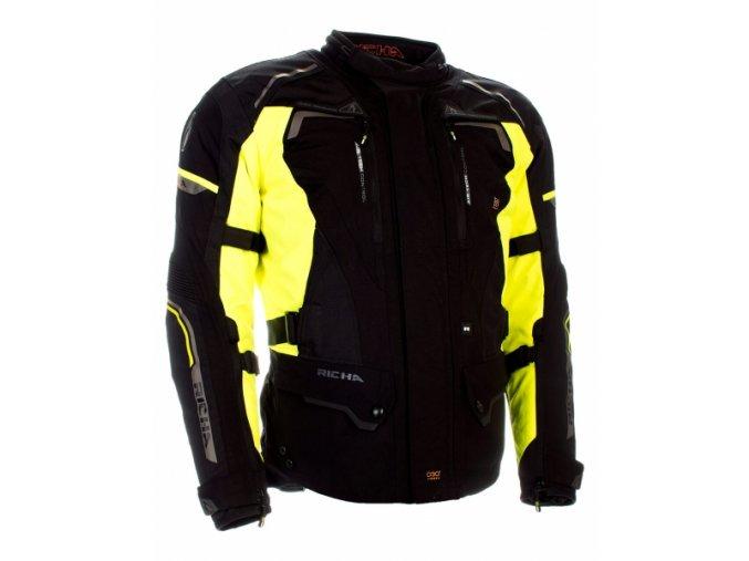 Moto bunda RICHA INFINITY 2 fluo žlutá