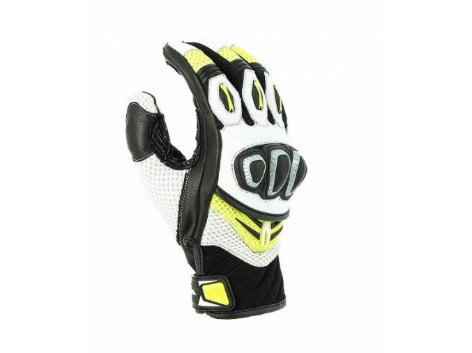 Moto rukavice RICHA TURBO GLOVE fluo žluté