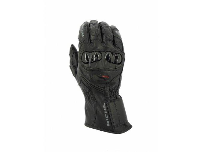 Panské rukavice Richa Hawk WP Glove černé