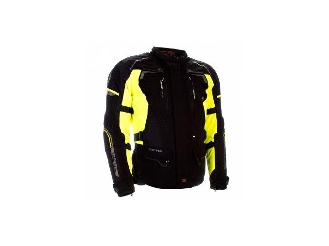 Dámská MOTO bunda RICHA INFINITY 2 černo/žlutá