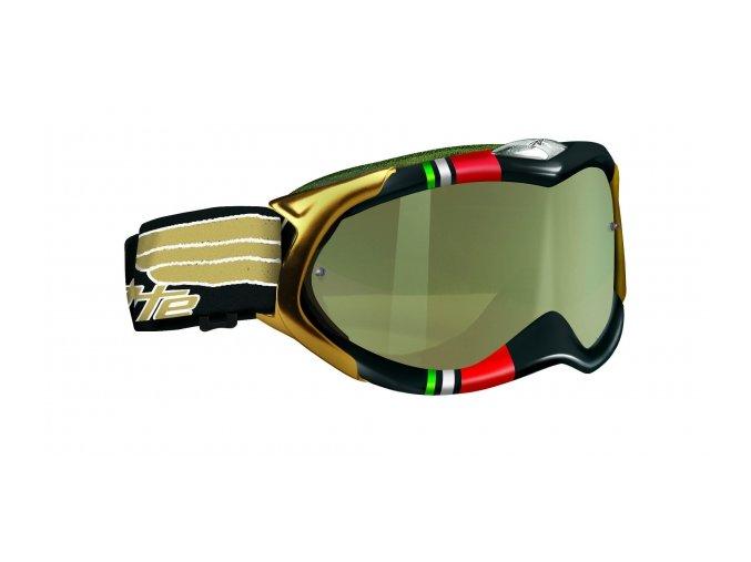Brýle ARNETTE DESTROYER FREESTYLE WING černé/čiré sklo + čiré sklo UNI