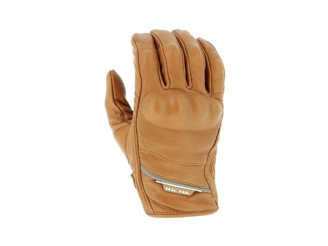 Moto rukavice RICHA CRUISER hnědé