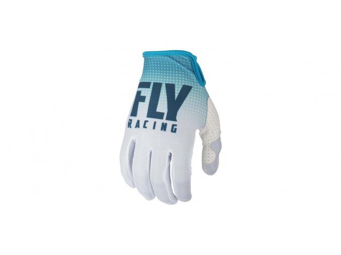 rukavice LITE 2019, FLY RACING - USA (modrá/bílá)