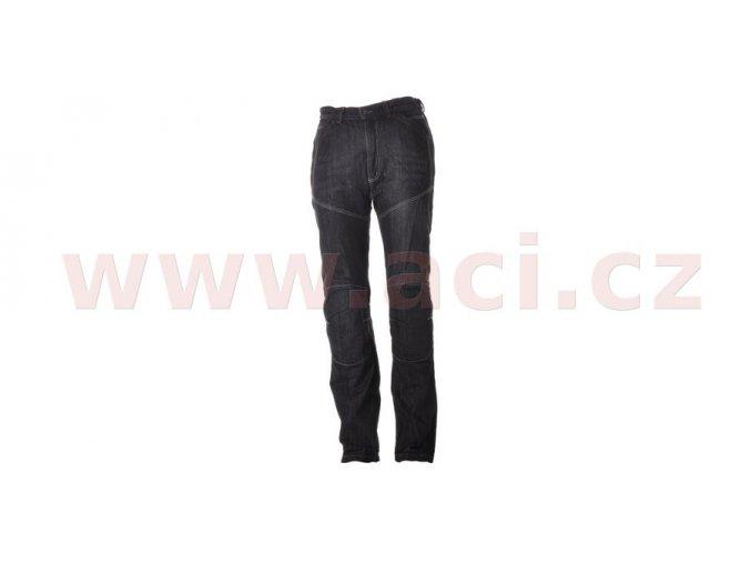 kalhoty, jeansy Kevlar, ROLEFF - Německo, pánské (černé)