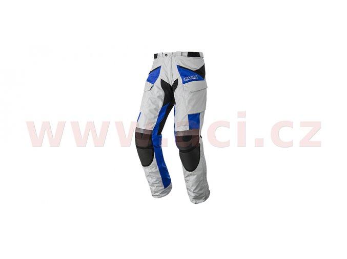 kalhoty Calama Drystar, ALPINESTARS - Itálie (šedá/černá/modrá)