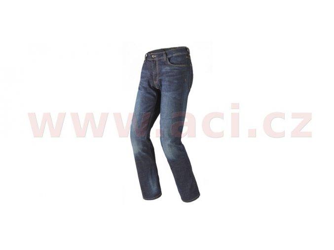 kalhoty, jeansy J FLEX, SPIDI - Itálie (tmavě modré/seprané provedení)